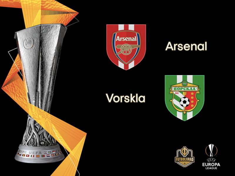 Арсенал — Ворскла Полтав 20 сентября 2018 года прогноз на игру Лиги Европы - 1 тур