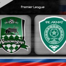 Прогноз матча Краснодар – Ахмат 21 октября