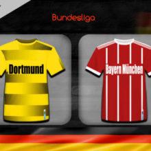 Прогноз матча Боруссия Дортмунд – Бавария 10 ноября