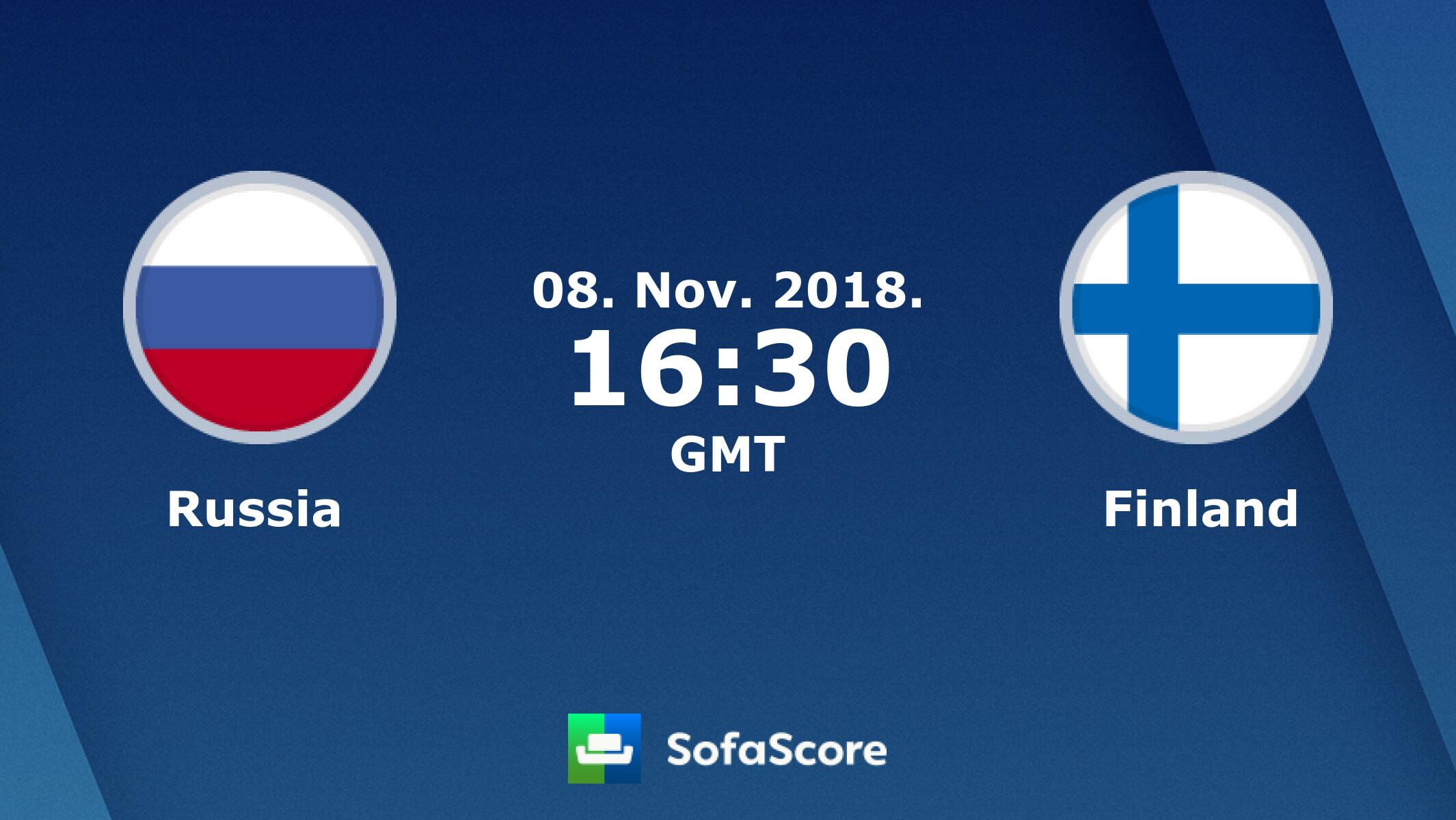 Финляндия — Россия прогноз игры на еврохоккейтур 8 ноября 2018 года