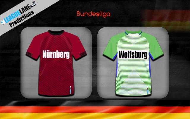 Нюрнберг — Вольфсбург 14 декабря 2018 прогноз на игру