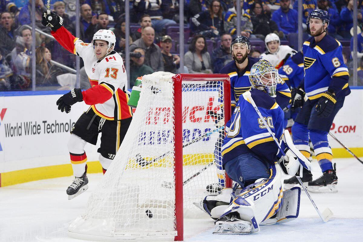 Калгари — Сент-Луис 22 декабря ПРОГНОЗ НА ИГРУ РЕГУЛЯРКИ НХЛ