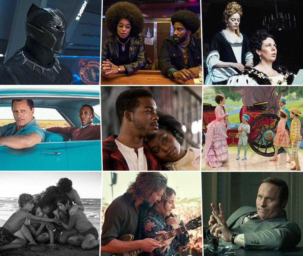 Претенденты в номинации Лучший фильм Оскар 2019 года