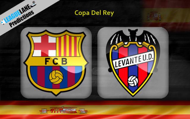 Барселона — Леванте 17 января 2019