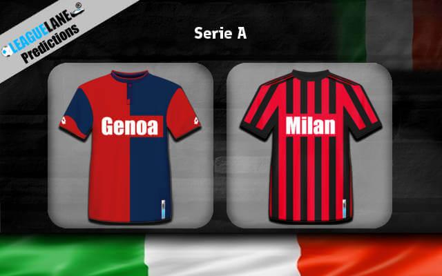 Дженоа – Милан 21 января 2018 прогноз на игру