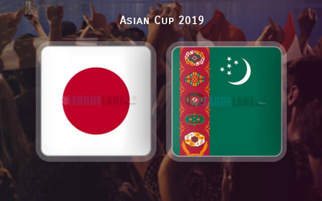 Япония — Туркмения 9 января 2019