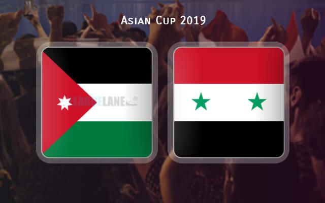 Иордания – Сирия 2019