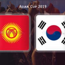 Прогноз матча Киргизия — Южная Корея 11 января