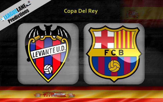 Леванте – Барселона 10 января 2019