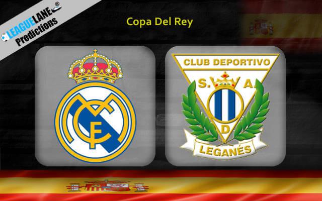 Реал Мадрид — Леганес 9 января 2019