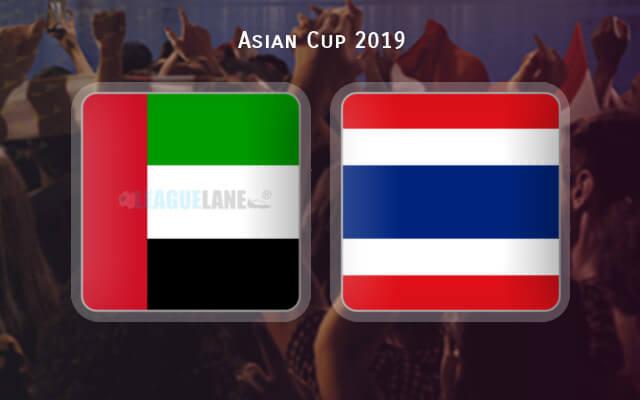 ОАЭ — Таиланд 14 января 2019