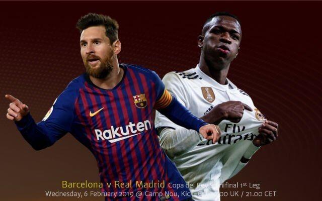 Барселона — Реал Мадрид 6 февраля 2019 года