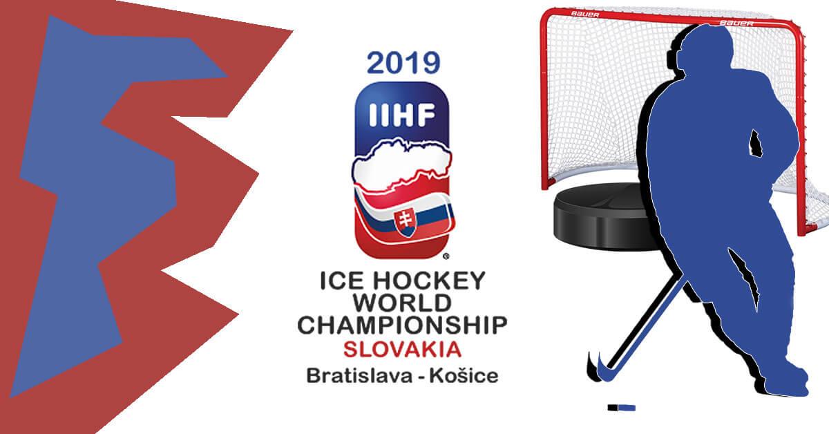 Чемпионат мира по хоккею 2019 года логотип и афиша