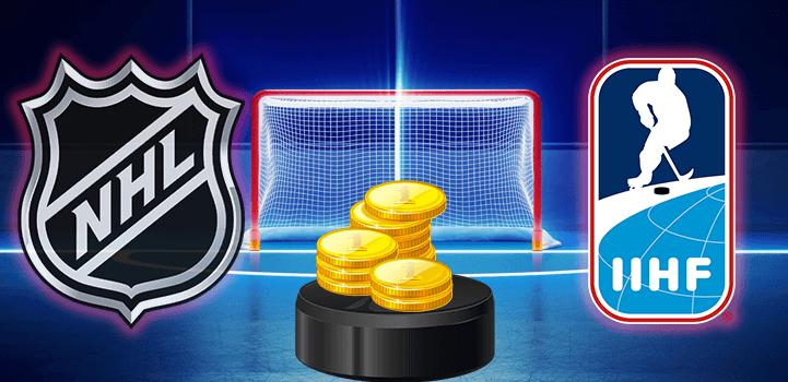 Бонусы онлайн букмекеров на матчи чемпионата мира по хоккею 2019 года