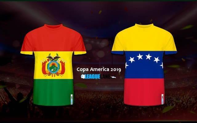 Боливия - Венесуэла 22 июня 2019 прогноз на игру