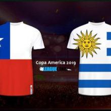 Прогноз матча Чили — Уругвай 25 июня