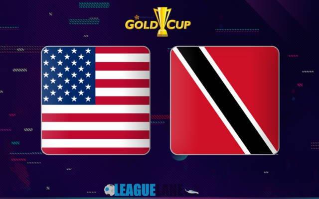США - Тринидад и Тобаго 23 июня 2019 года
