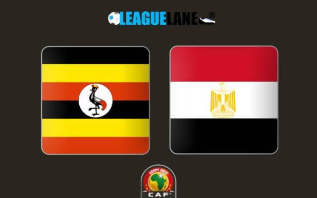 футбольный матч Уганда – Египет