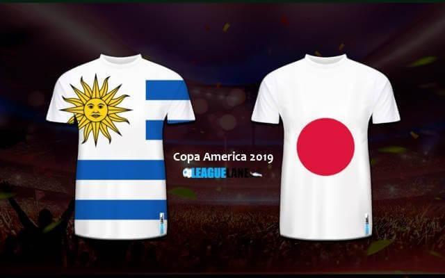 прогноз игры Уругвай — Япония 21 июня