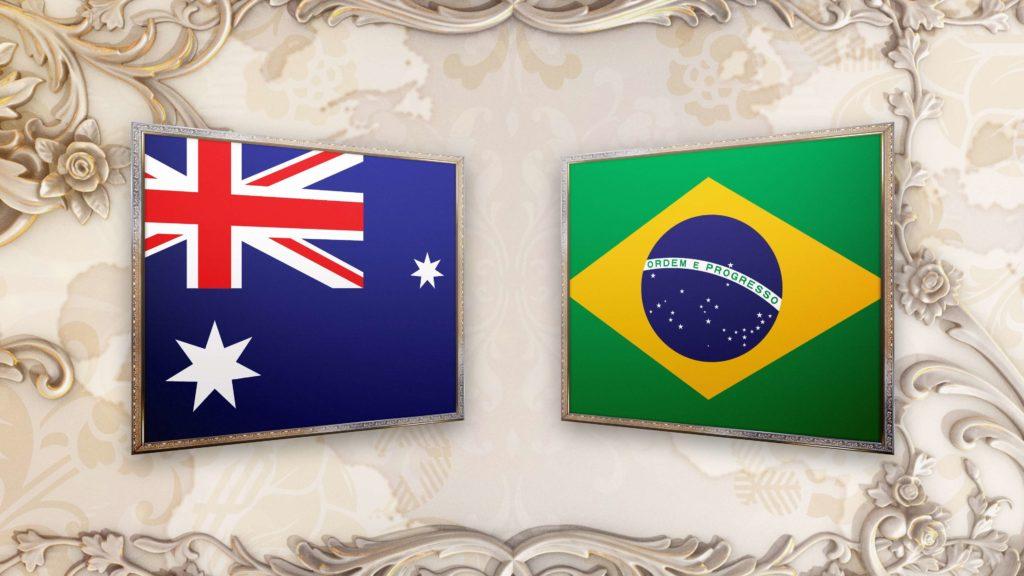 Австралия - Бразилия 13 июня