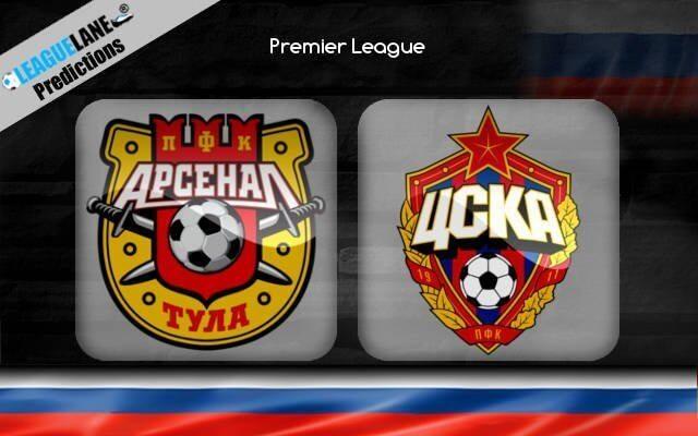 Арсенал Тула — ЦСКА 1 сентября 2019 год