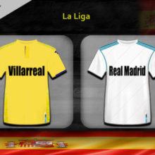 Прогноз матча Вильярреал — Реал Мадрид 1 сентября