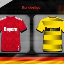 Прогноз матча Бавария – Боруссия Дортмунд 9 ноября