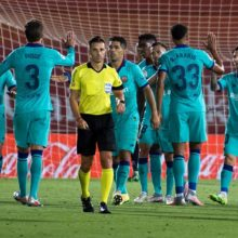 Барселона возобновляет сезон в Ла Лиге